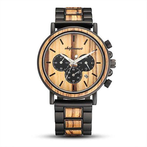 Shifenmei Herren Uhren aus Holz