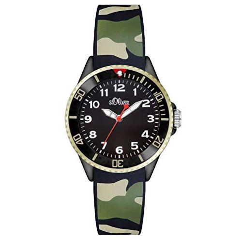 s.Oliver Unisex-Armbanduhr SO-2998-PQ