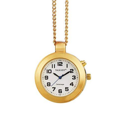 TalkJoy Goldene Sprechende Uhr