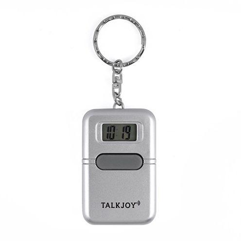 TalkJoy Sprechende Uhr Schlüsselanhänger
