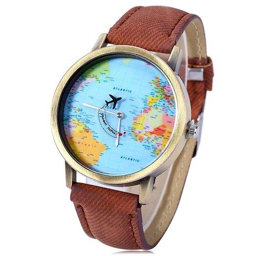 Weltkarten Uhr Kaufen Online Shop Sale